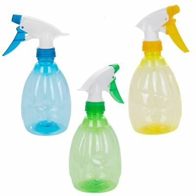 500ML Empty Plastic Spray Bottle Watering Cleaning Garden Sprayer R6Z2