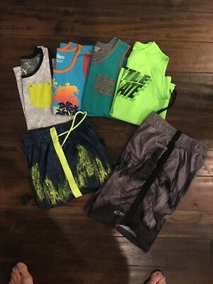 Lot Of Boys Summer Clothes Size 8-10