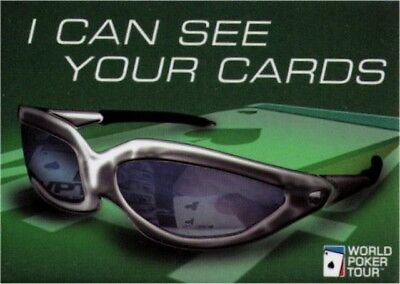 World Poker Tour I Can See Your Cards Magnet WM1631