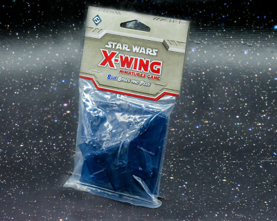 Star Wars X-Wing Miniatures Game Blue Bases and Pegs - New - Real Aus Stock!