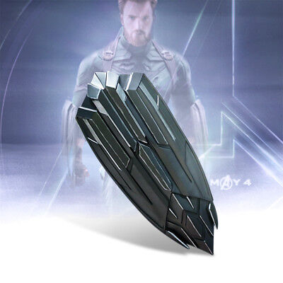 Avengers 3 Infinity War Captain America New Shield PVC Cosplay Adult Party Props