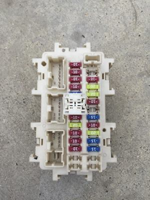 2012 nissan 370z a/t auto under dash dashboard fuse box oem z34