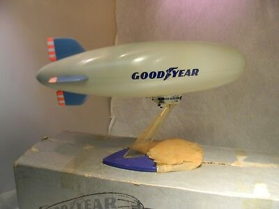 1975 Vintage Orvis Plastics Goodyear Blimp Mint In Box With Booklet -SCARCE!!