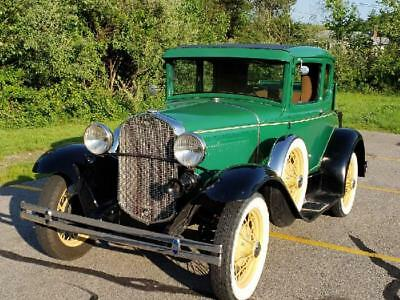 1930 Ford Model A WITH RUMBLE SEAT 1930 MODEL A DELUXE COUPE WITH RUMBLE SEAT. VERY ORIGINAL ALL STEEL BODY.