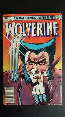 Wolverine #1 Limited Series and lot of Vol 1