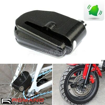 Motorcycle Scooter Bike Loud Alarm DISC Anti-Steal Anti Theft Security Lock 6mm