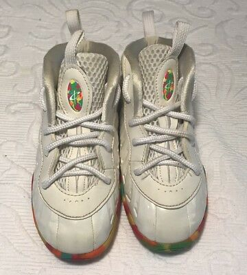 lowest price 268d2 359d3 ... purchase nike little posite white and fruity pebbles size 9c 76d00 6c5a3
