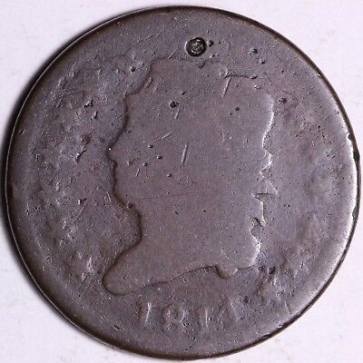 1814 Classic Head Large Cent - Tougher Date K3ACL