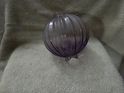 "5"" SCA Pointed Pleat 'Pumpkin' Lightning Rod Ball"