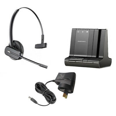 Plantronics Savi W740 Convertible Wireless Headset with Headband 83542-04