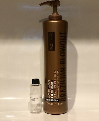 Professional Brazilian Blowout Original Smoothing Solution 2 OZ