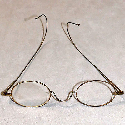 Spectacles Eye Glasses Vintage Antique Frames BEN FRANKLIN Optical