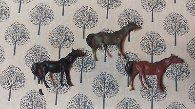 Breyer Vintage Horse Stablemate Lot (3) G1 TB Thoroughbred Mare