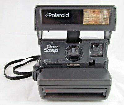 Vintage Polaroid One Step 600 Instant Camera Working