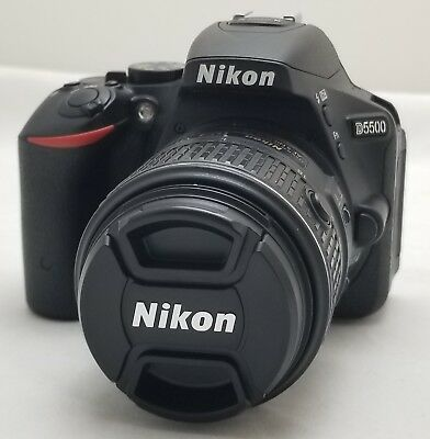 Nikon D5500 24.2Mp Digital Dslr Camera W/ 18-55Mm Vr Ii Lens ~ Usa ~ Sc: 2,336 ~