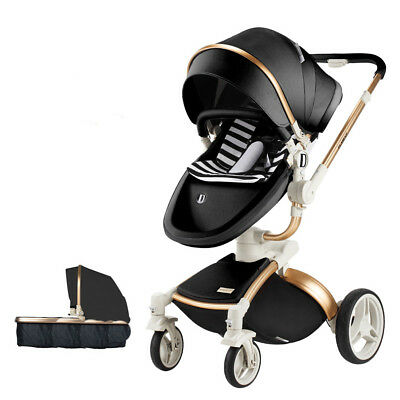 2018 Baby Stroller Hot Mom travel high view Bassinet Combo Pushchair car seat