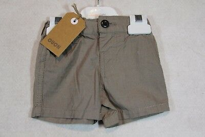 Baby Boy Size 00,0,1,2 Ouch Summer Blue Steel Or Khaki Shorts NWT
