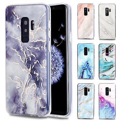 For Samsung Galaxy S9/S9+ Plus Case Slim Shockproof Hybrid Pattern Phone Cover