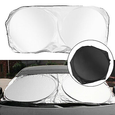 150x70cm Car Front Window Sun Shade Folding Windshield Block Cover Protect Parts