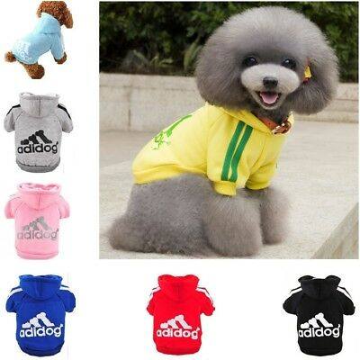 Winter, Dog Hoodie Jumper Clothing Sweater Clothes Jacket Coat