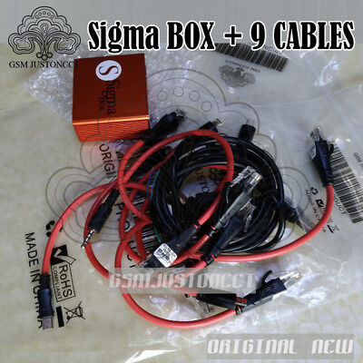 NEWEST ALCATEL,MOTOROLA,ZTE AND other MTK brands+9cables Sigma box repair  flash