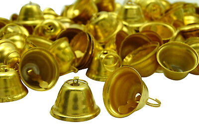 Traditional Decorative Handmade Brass Religious Small Bells Art Lots Of 100 Pcs