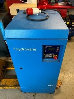 HYDROVANE V07 7.5kw 45cfm 8bar QUIET INDUSTRIAL / GARAGE VANE AIR COMPRESSOR
