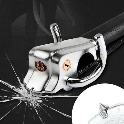 Foldable Car Steering Wheel Anti Theft Security Airbag Lock Safe Devices 2Key