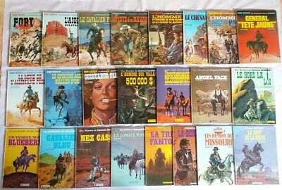 Lot BD - Blueberry 1 a 26 senza 2, 9 & 17 /1970-80 / RE & EO / CHARLIER & GIRAUD