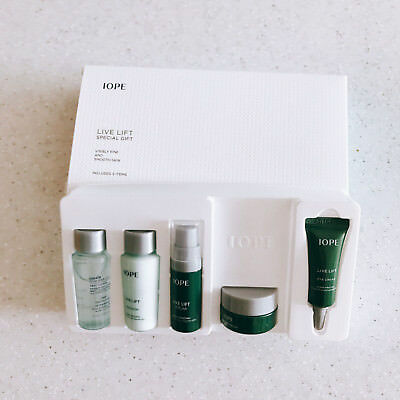 IOPE Live Lift Special Gift Kit 5 Item  set NEW!!, Korea Cosmetic