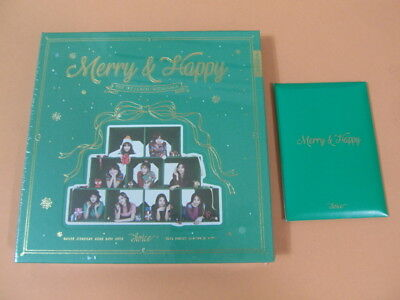 TWICE - MERRY & Happy (Merry ver ) w/Booklet + PO Benefit Photocard Set  K-POP