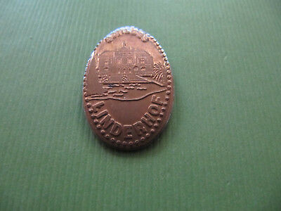 Elongated Coin Quetschmünze - Schloss Linderhof