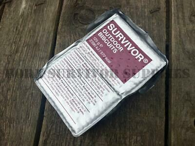 SURVIVOR OUTDOOR BISCUITS 125g - SOS Emergency Food Ration Survival Kit Snack