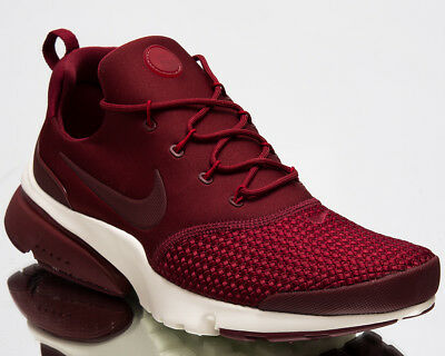 Nike Presto Fly SE Men Air New Shoes Team Red Gym Red Sail Sneakers 908020- 71cd5f540