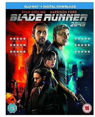 Blade Runner 2049 [Blu-ray] + [ Digital Download ] Brand New Sealed Free Postage