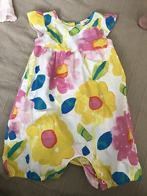 Bluezoo Baby Girl Jumpsuit 6-9 Months