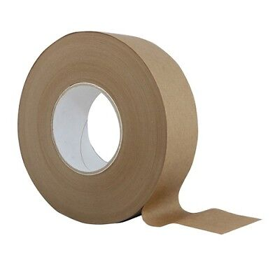 Brown Paper Gum Tape Roll 40mm x 200m for Framing, Packing, Watercolour Paper