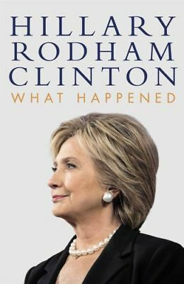 What Happened By Hillary Rodham Clinton Paper book Hardcover