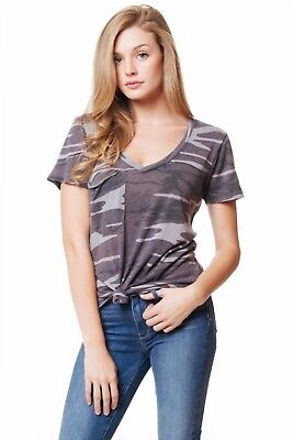 1ba9a309933b8 Z SUPPLY THE Camo Cold Shoulder Tee in Camo Green ZT182404 -  38.00 ...