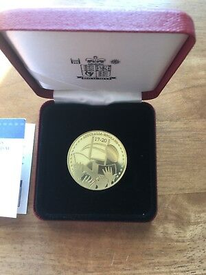 2003 Australia England World Champions Commemorative Medal Rugby Royal mint