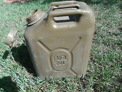 SCEPTER Field Drab Green Jerry Gas Can Fuel REAL Military MFC 5g 20L JEEP ARMY B
