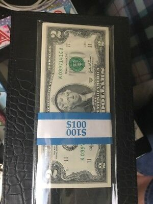 2003 Two Dollar Bills Rare 10 Consecutive Numbers