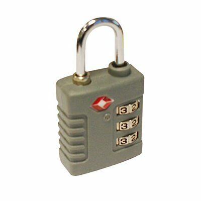 4x TSA Approved Luggage Lock Suitcase Travel Security Padlock 3 Dial Combination