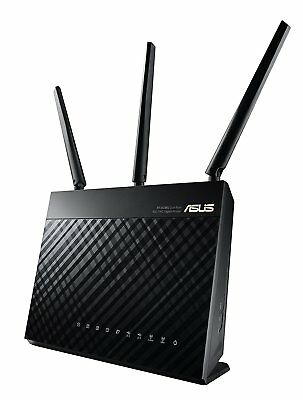 Brand New Asus RT-AC68U Dual Band Wireless AC1900 Gigabit Router RETAIL PACKAGE