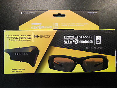 Hi-Shock Black Diamond, Active 3D Brille, BT / RF Serie