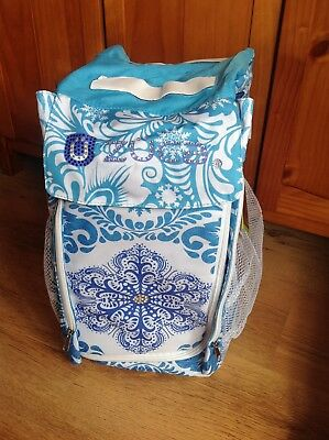 Zuca Ice Skate Bag Insert. BNWT Limited edition Ice Garden. Bag insert only.