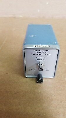 Tektronix S-4 Sampling Head mVOLTS/DIV