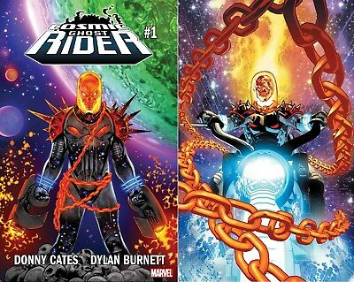 COSMIC GHOST RIDER #1 (OF 5) (Cover A & B) REG & DEODATO VARIANT MARVEL COMICS