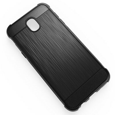 Funda Gel Tpu Silicona Borde Antigolpes Samsung Galaxy J530 J5 2017 Color Negro
