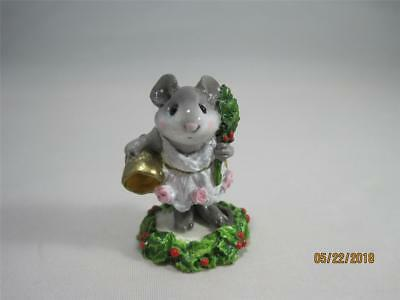 Wee Forest Folk Ghost of Christmas Past - Christmas Carol Series - Retired WFF